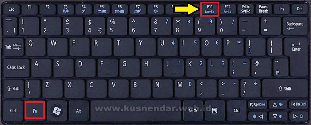 Mengatasi Error Tombol Fn di Laptop