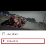 Cara download foto dari aplikasi FB Android