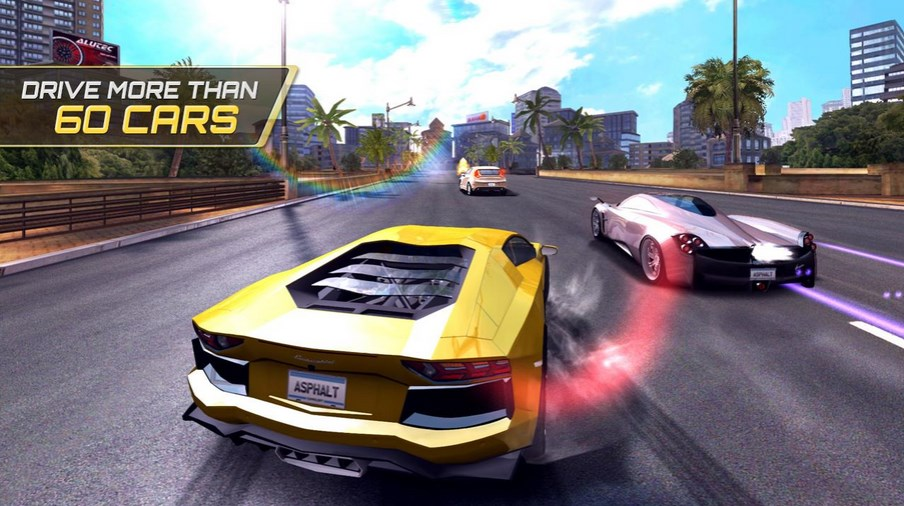 Game Android Terbaik Gameloft - Asphalt 7 Heat