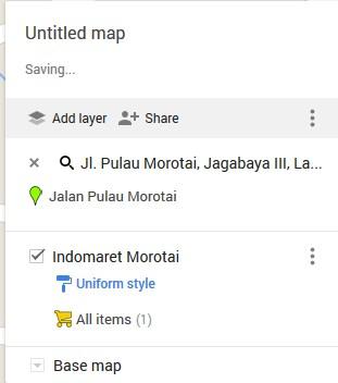 ubah layer google maps