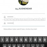 Ganti password instagram baru