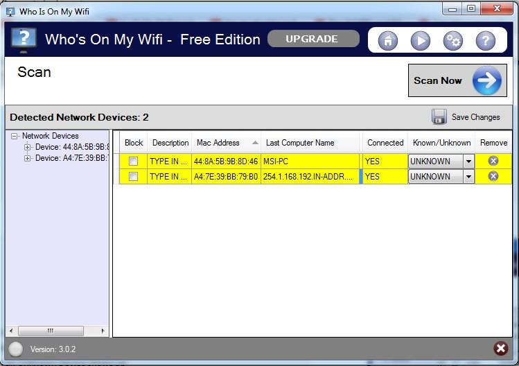 aplikasi pendeteksi pengguna WiFi