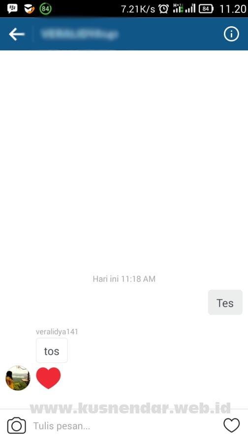 Chatting di Instagram Gratis
