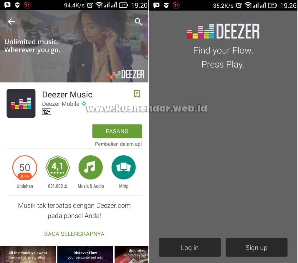 Aplikasi Android untuk Mendengarkan MP3 Online Gratis