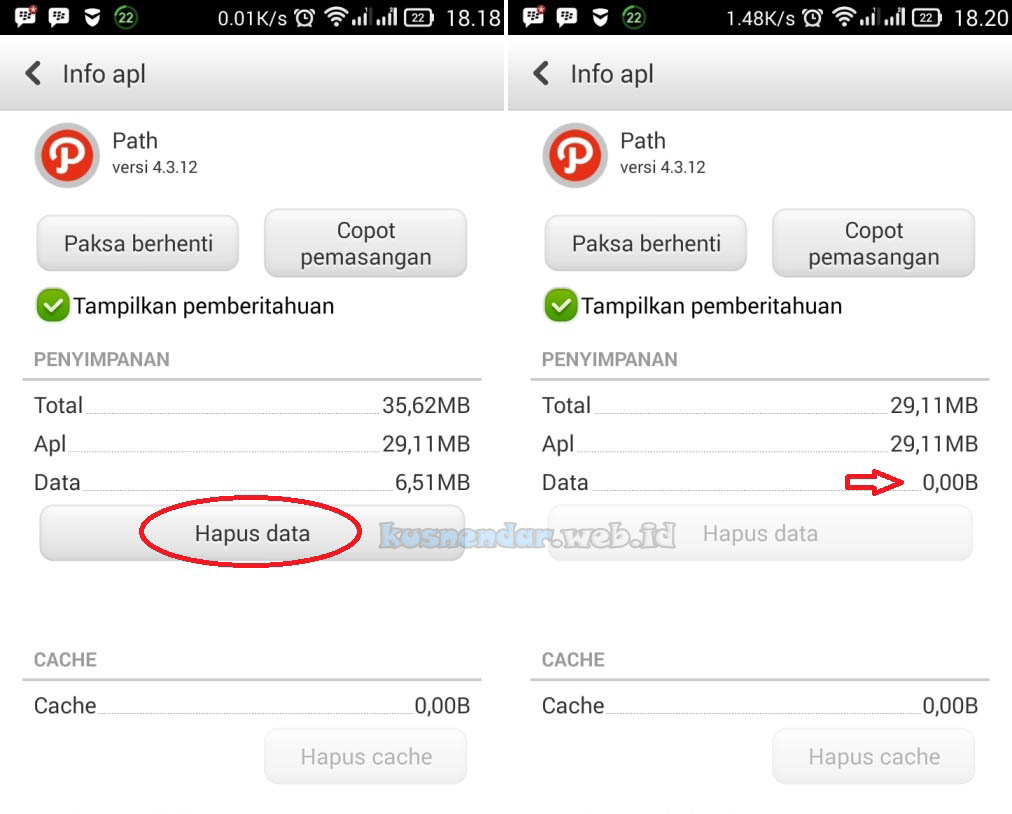 Clear data Path Error