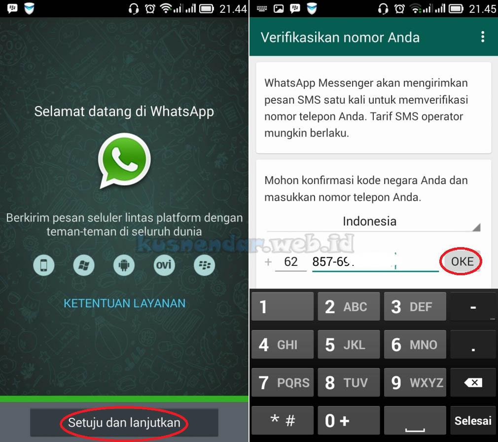 Login Akun Whatsapp