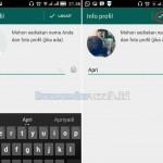 Mengembalikan AKun Whatsapp Lama
