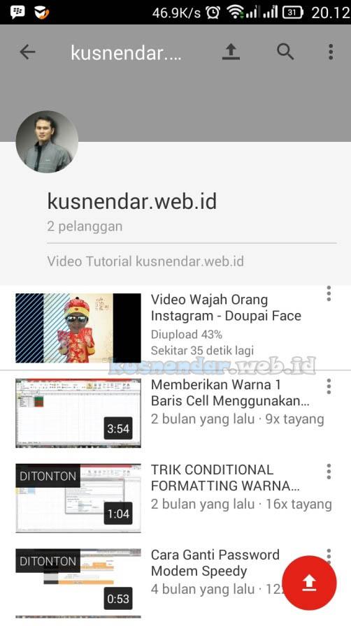 Upload Video Ke Youtube Android