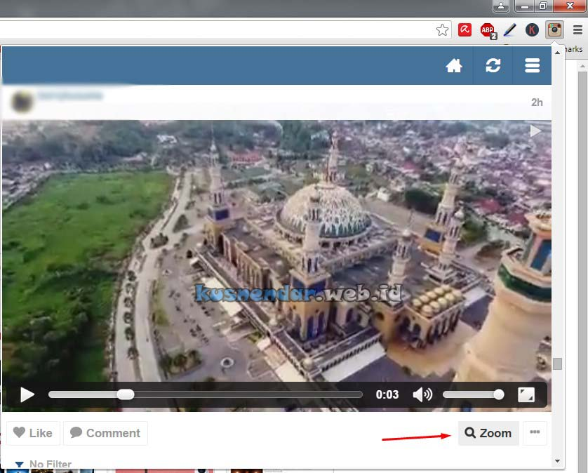 Download Video Instagram di PC