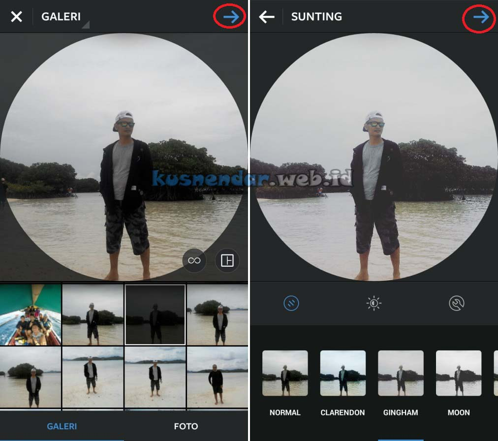 Update foto Profil Instagram