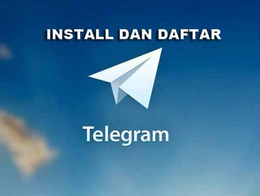 Daftar Akun Telegram Android