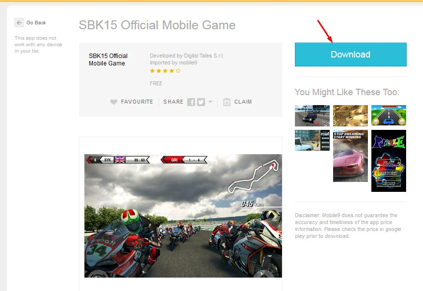 Download APK game Android di Mobile9