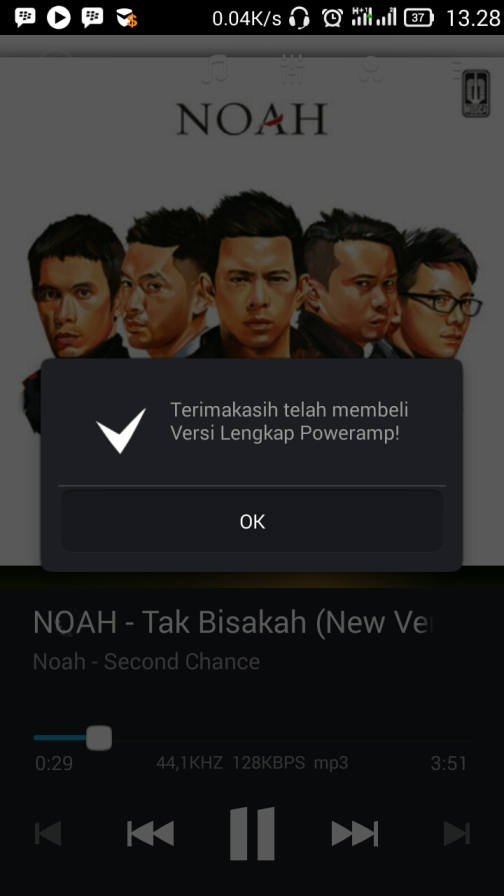 Menjadikan poweramp Full Version