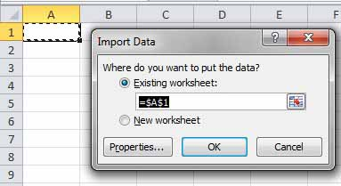 Import CSV File ke Excel_4