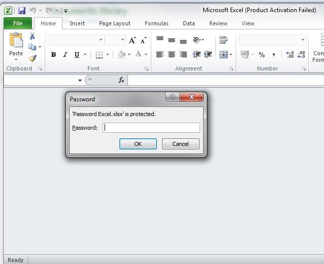 Membuat Password di Excel