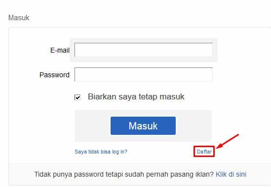 Register OLX