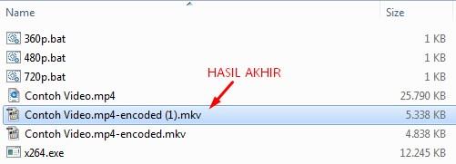 Mengecilkan Ukuran File Video