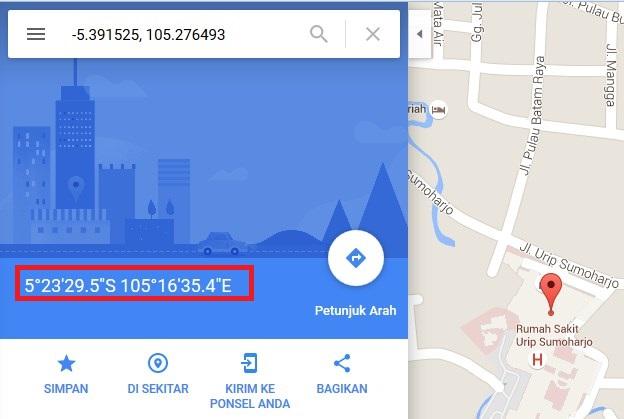 Cara Mencari Titik Koordinat Lokasi Di Google Maps Garis Lintang Dan Bujur Kusnendar