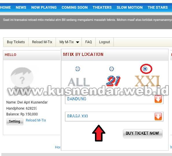 Booking Tiket Online XXI dan 21