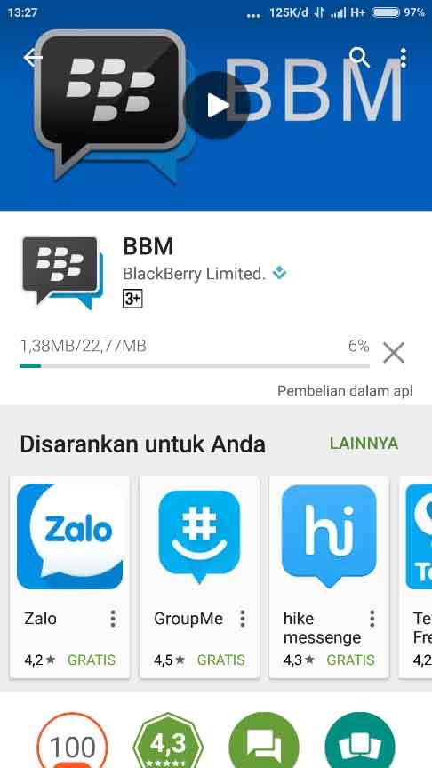Download BBM Terbaru Android