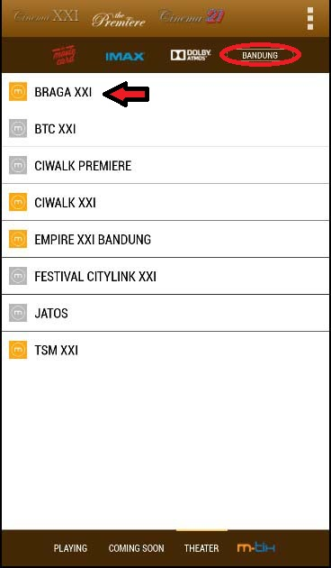 Theater Bioskop Android
