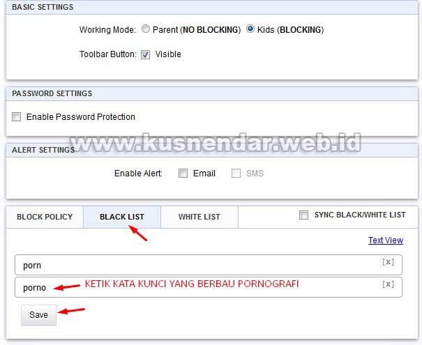 Black List Situs Dewasa