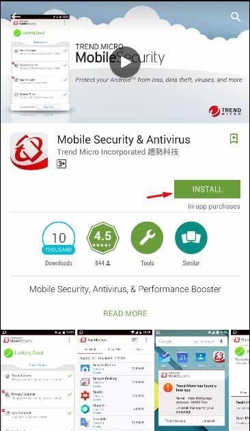 Download Mobile Security Antivirus Gratis