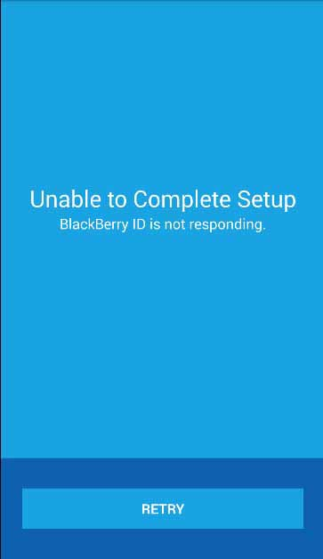 Blackberry Has deleted