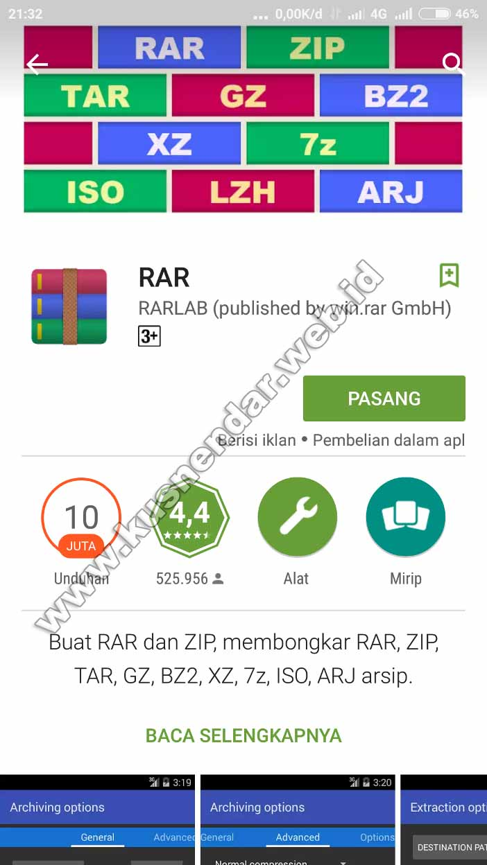 download-rar-android