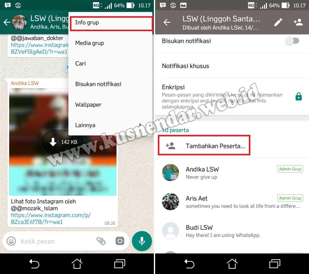 Cara Masuk Grup WA (Whatsapp) Tanpa Diundang Admin | Kusnendar